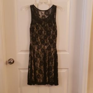 Ruby Rox Black lace cocktail dress